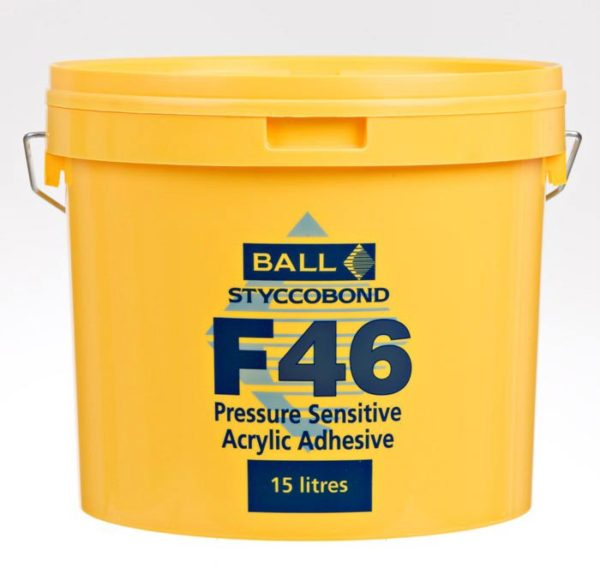 F Ball F46 Styccobond Acrylic Adhesive