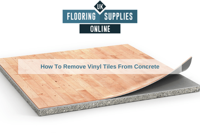 How To Remove Vinyl Tiles From Concrete